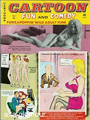 CARTOON FUN AND COMEDY; Wild Adult Entertainment Vol. 12, No. 88, April 1978