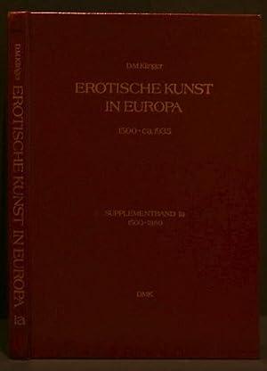 EROTISCHE KUNST IN EUROPA   EROTIC ART IN EUROPE; 1500-ca.1935 Supplementband 1a: Klinger, D. M.
