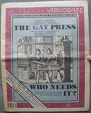 THE ADVOCATE; America's Leading Gay Newsmagazine No. 282, December 13, 1979