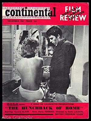 CONTINENTAL FILM REVIEW December 1961 (UK edition)