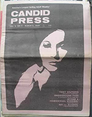CANDID PRESS; America's Largest Selling Adult Weekly! Vol. 8, No. 9, March 2, 1969