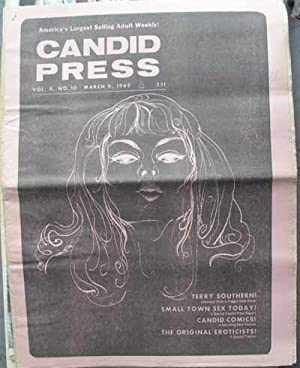 CANDID PRESS; America's Largest Selling Adult Weekly! Vol. 8, No. 10, March 9, 1969