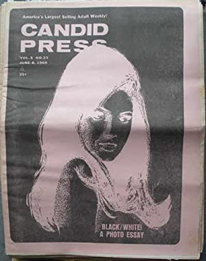CANDID PRESS; America's Largest Selling Adult Weekly! Vol. 8, No. 23, June 8, 1969