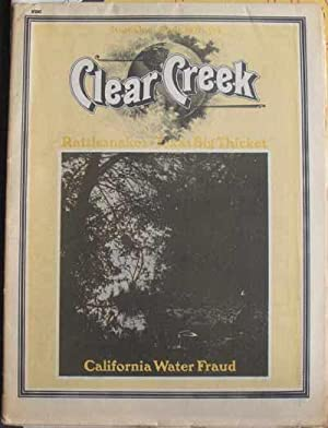 CLEAR CREEK; The Environmental Viewpoint No. 1, April 1971: Jensen, Pennfield