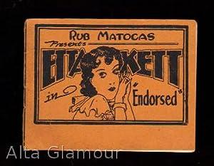 "ETTA KETT IN ""ENDORSED""; RUB MATOCAS PRESENTS"