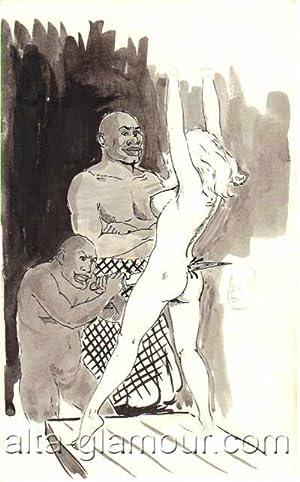 VIGNETTE FROM NIGHTS OF HORROR - ORIGINAL ARTWORK