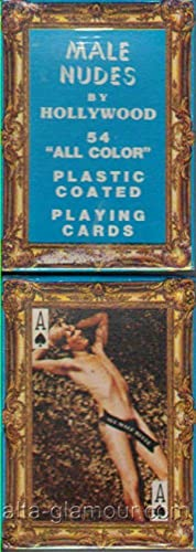 54 HANDSOME NUDES; Plastic Coated Playing Cards: Playing Cards]