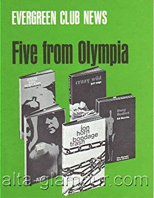 EVERGREEN CLUB NEWS. Five From Olympia unnumbered