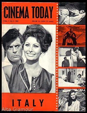 CINEMA TODAY; Quarterly Vol. 1, No. 3, October-December 1963