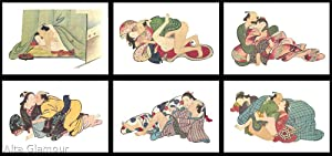 KRONHAUSEN COLLECTION THE INTERNATIONAL MUSEUM OF EROTIC ART- Six Scenes From A Japanese Scroll ...