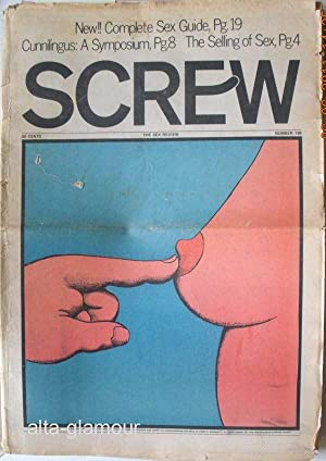 SCREW; The Sex Review Number 0138, October 25, 1971: Goldstein, Al (Editor)