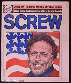 SCREW; The Sex Review Number 1166 , July 8, 1991: Goldstein, Al (Editor)