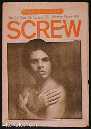 SCREW; The Sex Review Number 0155 , February 24, 1972: Goldstein, Al (Editor)