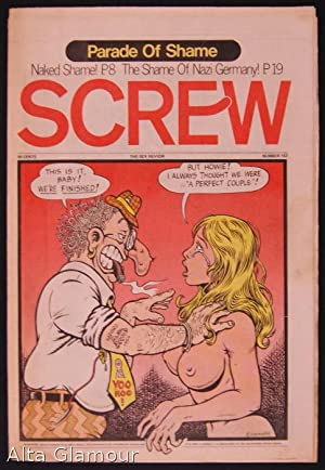 SCREW; The Sex Review Number 0157 , March 6, 1972: Goldstein, Al (Editor)