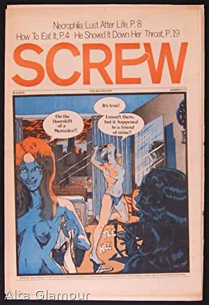 SCREW; The Sex Review Number 0171 June 12, 1972: Goldstein, Al (Editor)