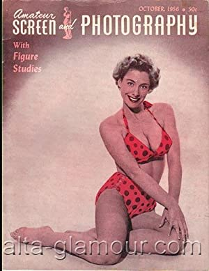 AMATEUR SCREEN AND PHOTOGRAPHY; With Figure Studies Vol 11 No. 6, October