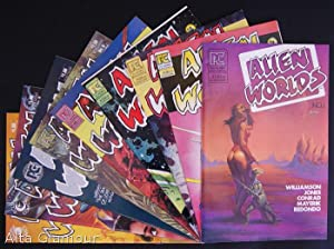 ALIEN WORLDS [Nos. 1 - 9] A Complete Run of 9 Issues: Jones, Bruce and April Campbell (edited by)
