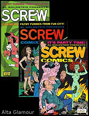 SCREW COMICS [Nos. 1 - 3]: Goldstein, Al