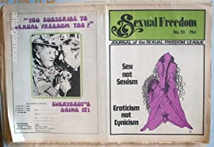 SEXUAL FREEDOM; Journal of the San Francisco Sexual Freedom League