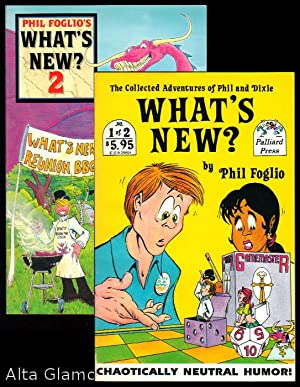 WHAT'S NEW?; The Collected Adventures of Pjhil and Dixie Nos. 1 + 2 (A Complete Set): Foglio, ...