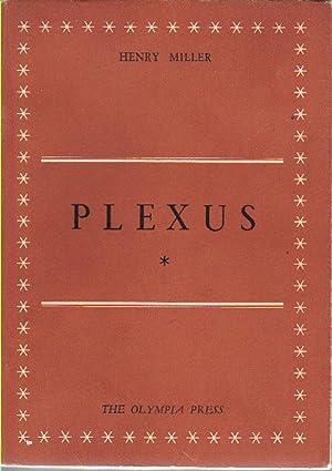 PLEXUS. [The Rosy Crucifixion, Book II]: Miller, Henry