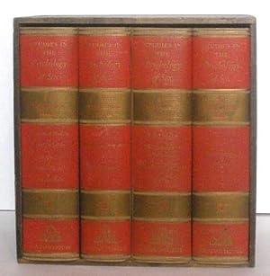 STUDIES IN THE PSYCHOLOGY OF SEX; 4 Volumes: Ellis, Havelock