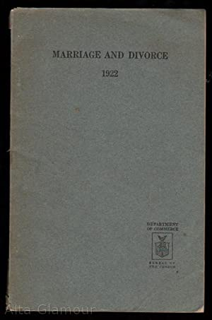 MARRIAGE AND DIVORCE 1922
