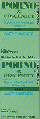PORNO & OBSCENITY: A Pictorial Study of: Ferrario, Peter (editor)