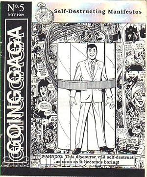 GOING GAGA; Self-Destructing Manifestos No. 5, November 1989: Branwyn, Gareth