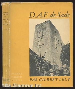 MORCEAUX CHOISIS. publiees avec un Prologue, une: Sade, (D.-A.-F.), Marquis