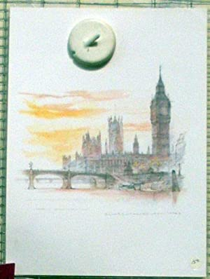WESTMINSTER BRIDGE AND THE HOUSES OF PARLIAMENT,: Stage, Mads