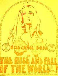 THE RISE AND FALL OF THE WORLD!; As Seen From A Sexual Postion: Doda, Carol)
