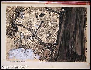 RAT RACE TO PARADISE - ORIGINAL ARTWORK; Madcap Vol 03, No. 04: Ebeling, E. A.