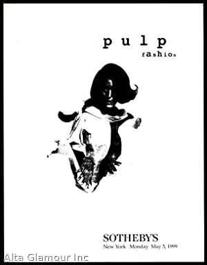 SOTHEBY'S: PULP FASHION; Sale 7294 - May 3, 1999