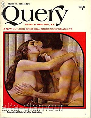 QUERY; A New Outlook on Sexual Education for Adults Vol. 1, No. 2