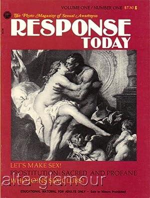 RESPONSE TODAY; The Photo Magazine of Sexual Awareness Vol. 1, No. 1; October November December