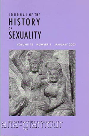 JOURNAL OF THE HISTORY OF SEXUALITY Vol.