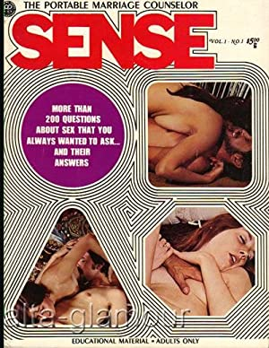 SENSE; The Portable Marriage Counselor Vol. 1, No. 1; November December