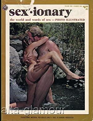 SEXIONARY; The World and Words of Sex - Photo Illustrated Vol. 1, No. 1; October November December