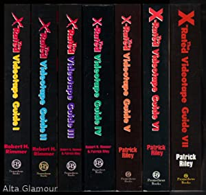 THE X-RATED VIDEOTAPE GUIDE. Volumes 1-7 [set]: Rimmer, Robert H. & Patrick Riley