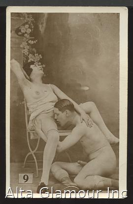 PORNOGRAPHIC PHOTO POSTCARD