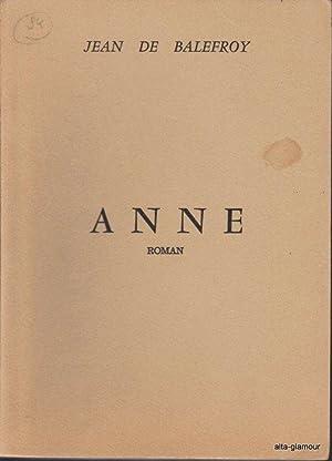 ANNE: Balefroy, Jean de