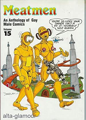 MEATMEN. An Anthology of Gay Male Comics: Leyland, Winston (Ed.)
