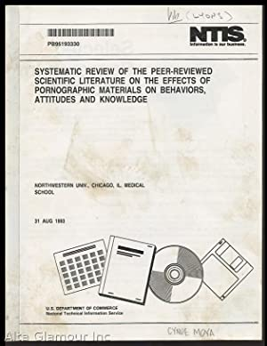 SYSTEMATIC REVIEW OF THE PEER-REVIEWED SCIENTIFIC LITERATURE: Lyons, John S.,