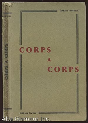 CORPS A CORPS: Hohner, Maryse