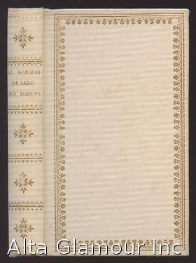 LETTRES AUX FEMMES Le Livre de Chevet; Bibliotheque Amoureuse: Sade, Donatien Alphonse Francois, ...