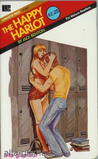 THE HAPPY HARLOT Corniche Press: Benton, Jack
