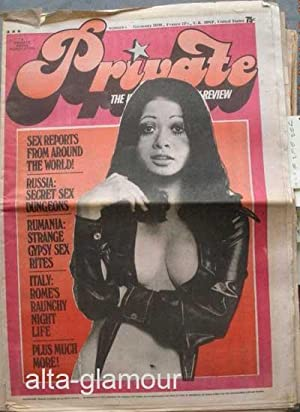 PRIVATE; The International Sex Review: Brinker, Martin (Ed.)