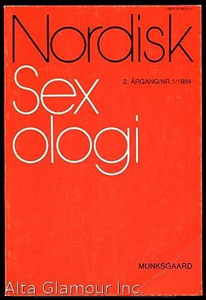 NORDISK SEXOLOGI 2. Årgang / Nr. 1/: Jensen, Søren Buus