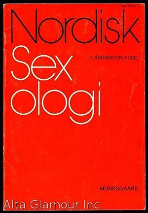 NORDISK SEXOLOGI 3. Årgang / Nr. 5/: Jensen, Søren Buus